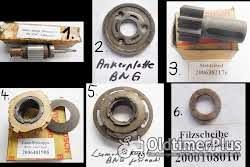Bosch, Lukas Anlasser, Strarter, Lichtmaschine, Generator, Anker, Ritzel, Ersatzteile Foto 2
