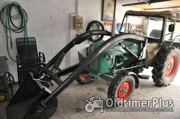 Kramer KL 350 Export mit Frontlader Foto 1