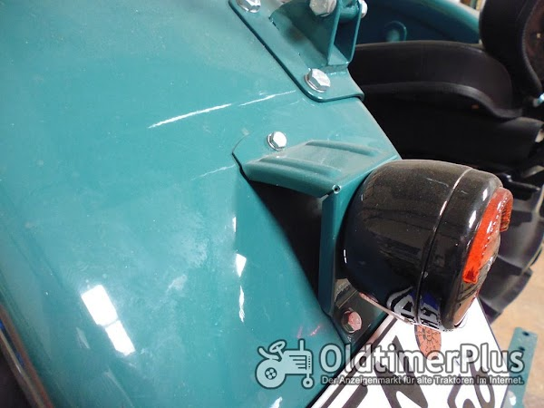Hanomag R35,R28 Lampenhalter Universal für Vorne und Hinten passend Foto 1