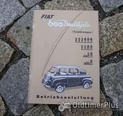 Betriebsanleitung Fiat 500 F L 1970 Foto 6