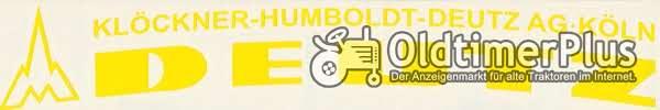 Aufkleber Label Sticker für Deutz Sitz der 05 und D Baureihe zinkgelb neu Foto 1