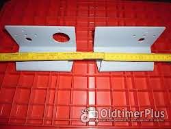 Lanz 28,32,und 36 PS Halbdiesel Lampenhalter Links und Rechts Foto 3