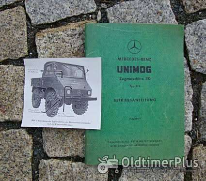 Betriebsanleiutng Unimog 411 1961 Foto 1