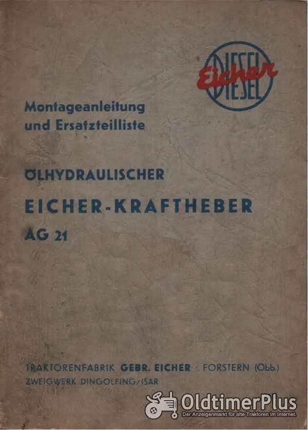 EICHER Kraftheber AG 21 im pdf-Format Foto 1