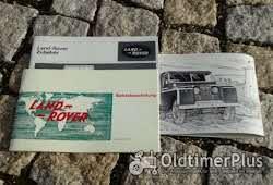 Literatur Betriebsanleitung Landrover S2 88 109 110 1966