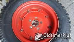 Heidenau 23x5 2x Reifen 23x5 auf Felge für 11er Deutz nicht orginal! Foto 2