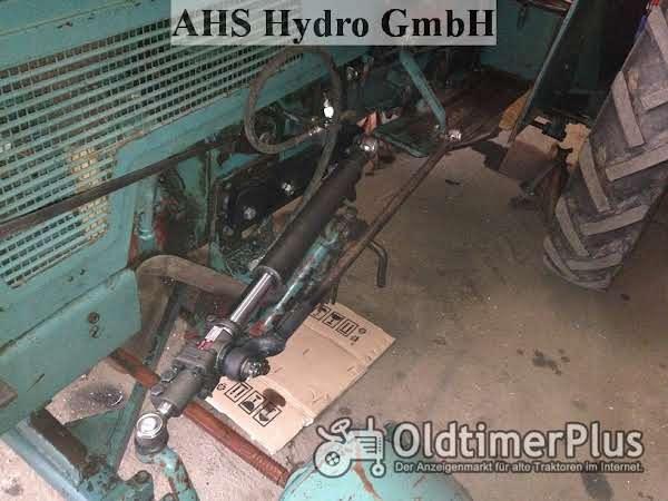 Original Riva Calzoni Rcd. Hydraulische Lenkung Hanomag Schlepper Foto 1