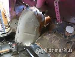 Karosserie- Blechschlosser gesucht. Mein FIAT 500 F will überarbeitet werden Foto 4
