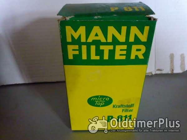MANN Kraftstofffilter P811 passend für Deutz, Kramer MANN Kraftstofffilter P811 Foto 1