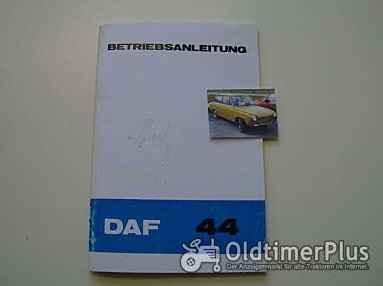 Betriebsanleitung DAF 44 1972 Foto 1