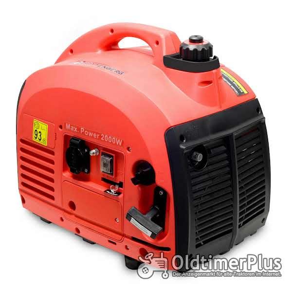 Stromerzeuger Stromgenerator Generator max 2000Watt OVP Foto 1