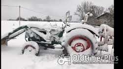 Deutz D4005 Frontlader Kat. 2 hydraulische Lenkung, viele Neuteile Foto 11