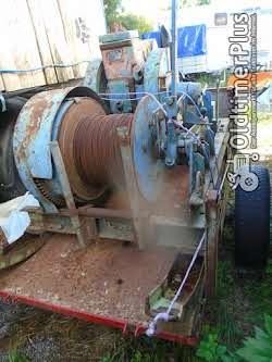 Braun Bowey Langstreckenseilwinde mit Standmotor Foto 2