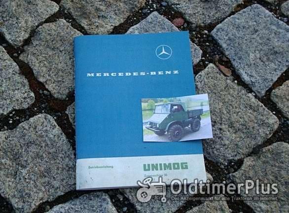 Betriebsanleitung Unimog 411 1962 1963 Foto 1