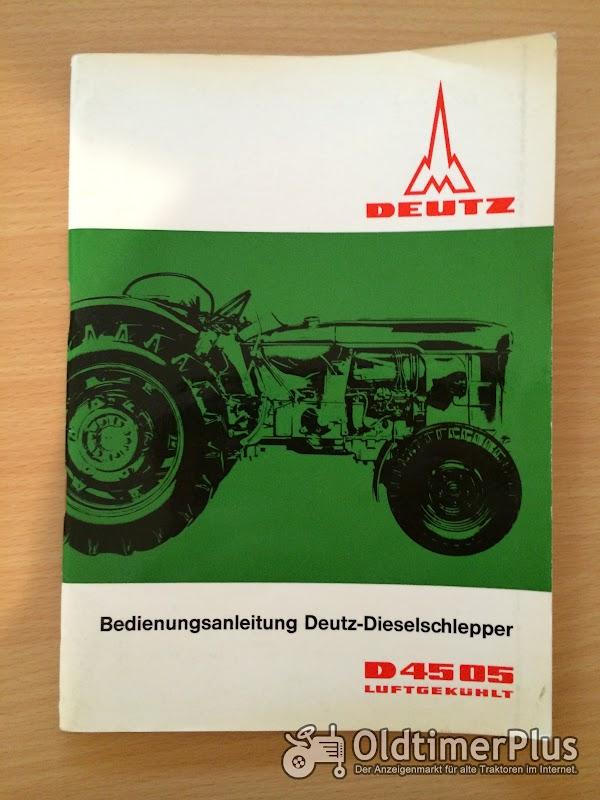 Deutz D 4505 Bedienungsanleitung Foto 1
