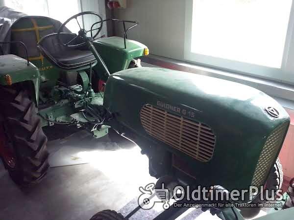 Güldner Traktor Foto 1
