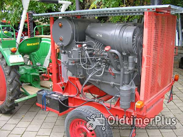 Deutz Motor A4 L514 passend für Schlepper F4 L514 ! Foto 1