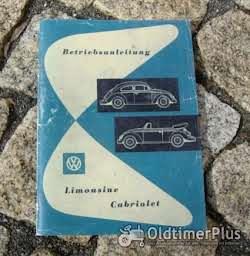 Betriebsanleitung VW 1200 Käfer Standard 1962 Foto 4