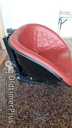 star Oldtimersitz für Traktoren Universal Traktorsitz Schleppersitz Foto 4