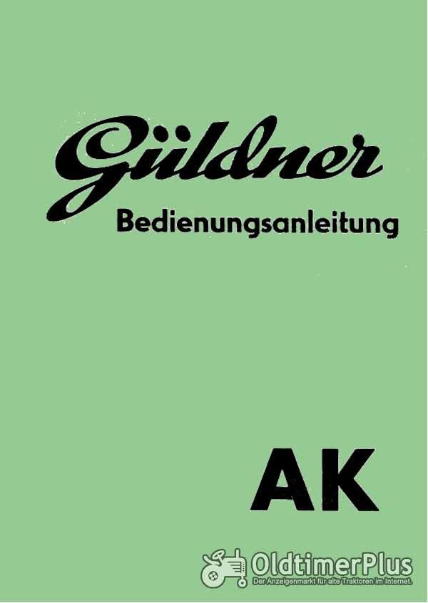 Güldner AK Bedienungsanleitung im PDF-Format Foto 1