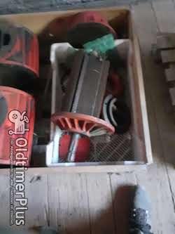 Vakuumpumpen in Einzelteilen Foto 5