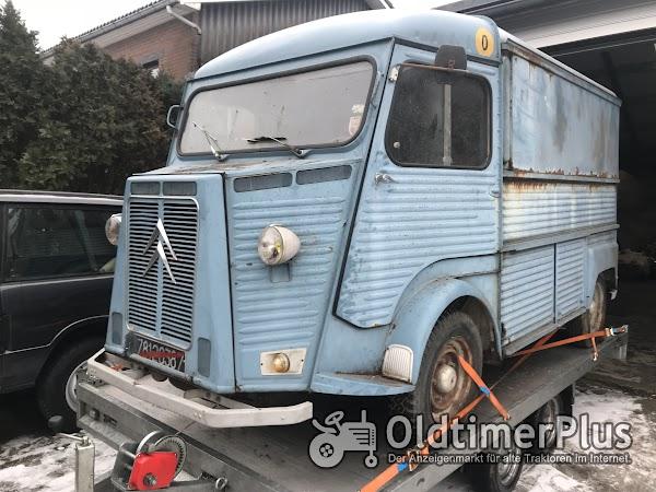 Citroen HY Oldtimer Zum Streetfood umbauen Foto 1