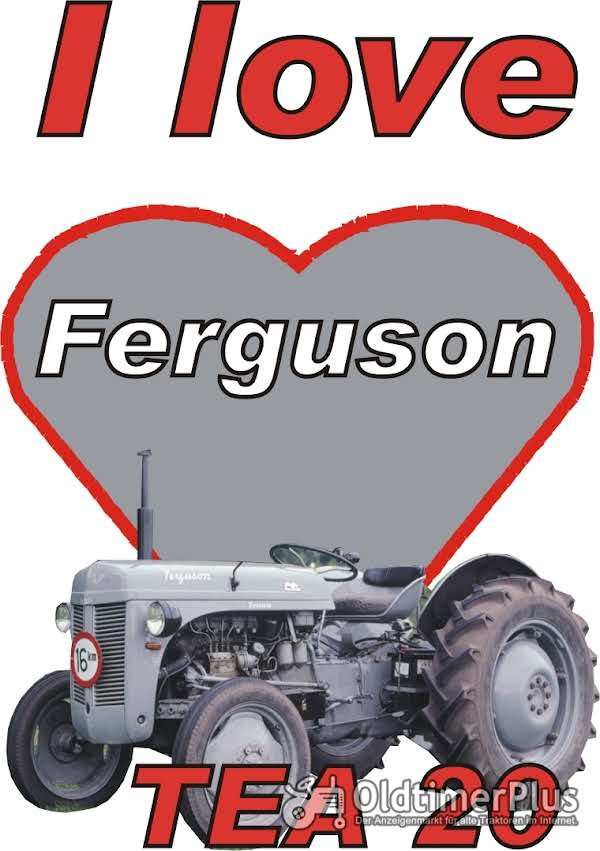 I love Ferguson TEA 20 T-Shirt Foto 1