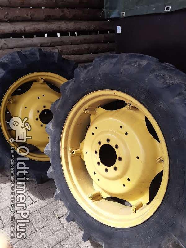 John Deere Komplett Räder Felgen und Reifen Foto 1
