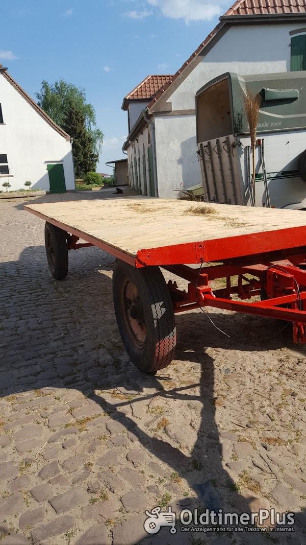 Plattformwagen, Ballenwagen Foto 1