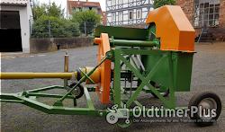 Wippkreissäge für Brennholz - Schlepperantrieb Foto 3