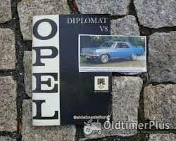 Literatur Betriebsanleitung Opel Dilpomat A V8 1967