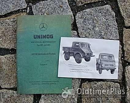 Betriebsanleitung Unimog 401 402 1955 Foto 1