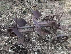 Oldtimer Pflug Foto 2