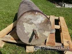 2 alte Sandstein Walzen Foto 7