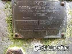 Nordtrac stier 480  , mwm 112v nordtrac  stier MWM AKD 112V , 4 zilinder diesel , 48 ps, 1956 , luftgekühlt ,