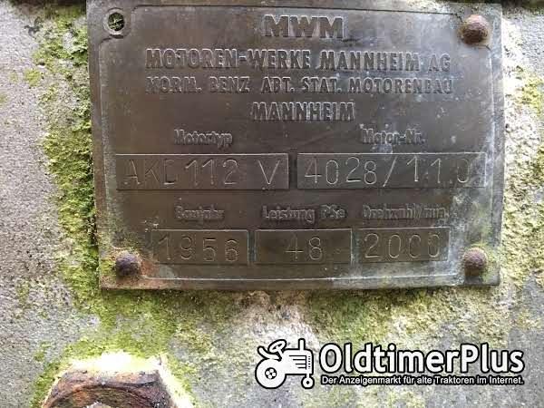Nordtrac stier 480  , mwm 112v nordtrac  stier MWM AKD 112V , 4 zilinder diesel , 48 ps, 1956 , luftgekühlt , Foto 1