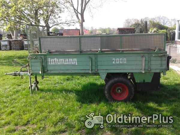 Anhänger, ehemaliger Miststeuer Lohmann 2000 Foto 1