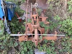 inconnu Drehpflug mit zwei Pflugscharen Foto 2