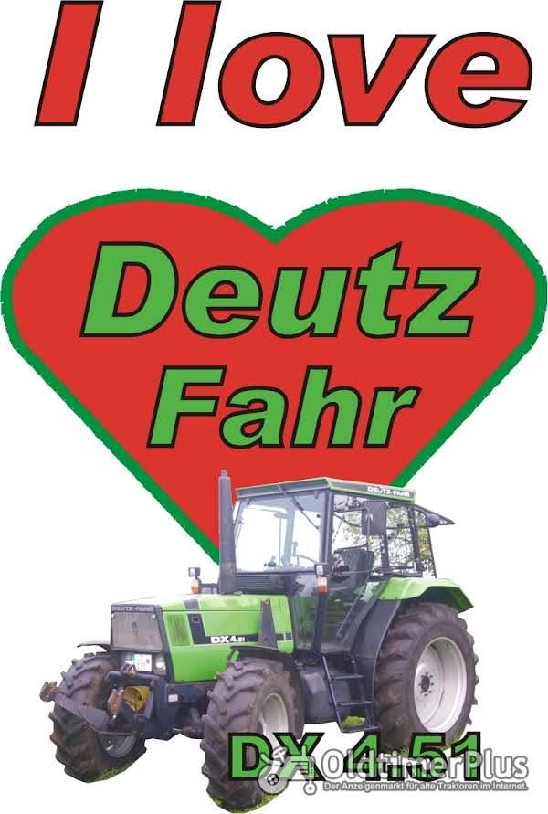 I love Deutz Fahr DX 4.51 T-Shirt Foto 1