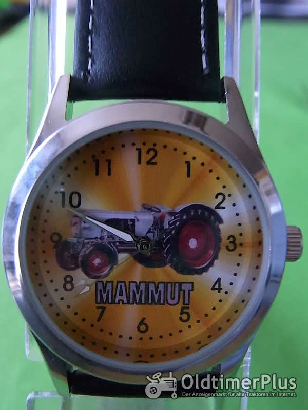 Eicher Mammut Armbanduhr Foto 1
