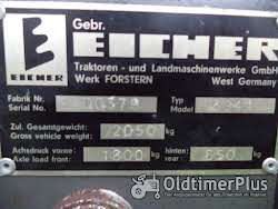 Eicher Eichus HD 12 3941 Oldtimer Hoflader Foto 7