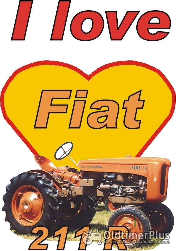 I love Fiat 211 T-Shirt Foto 1