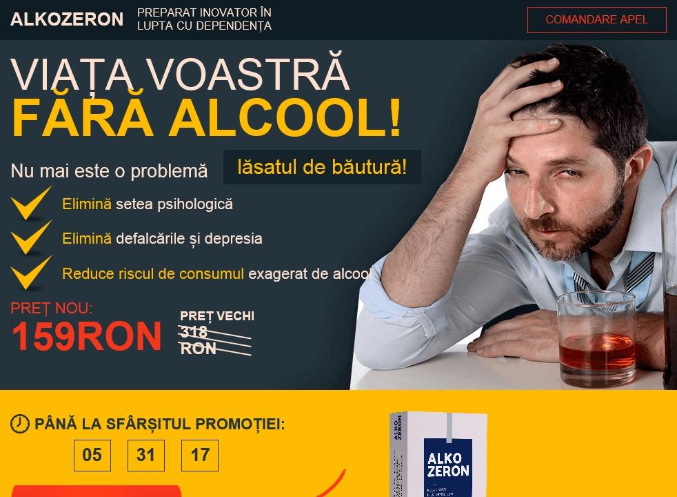 De unde să cumpăr Alkozeron