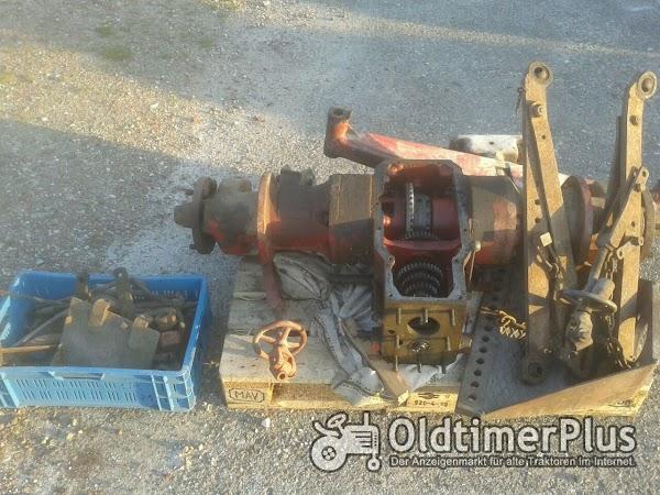 Bucher D1800 Vorderachse und Hinterachsen Foto 1