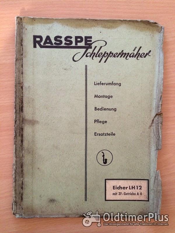 Rasspe Mähwerk für Eicher LH12 Foto 1