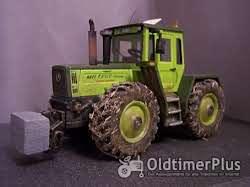 MB Trac 1800 intercooler Traktor 1:32 Umbau Foto 2