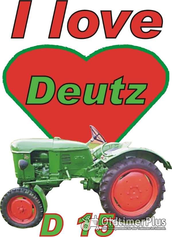 I love Deutz D 15 T-Shirt Foto 1