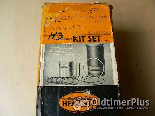 Case C,D,Super Kolben Buchsensatz  4 Stück Foto 1
