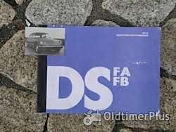 Betriebsanleitung Citroen D Super D Special ID / DS 1971 Foto 12
