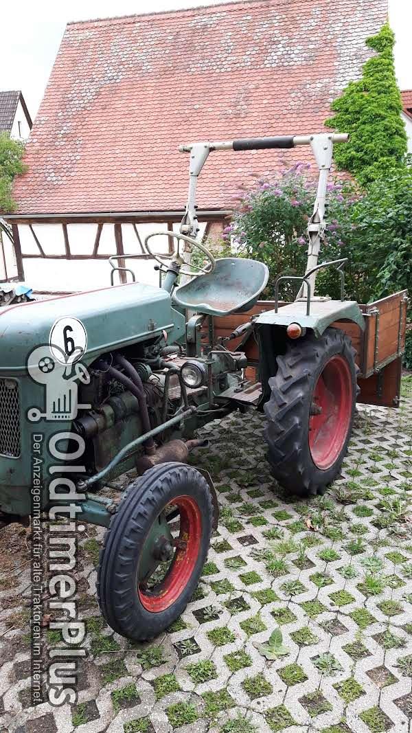 Bautz AS 120 mit Mähwerk und Transportkiste Foto 1